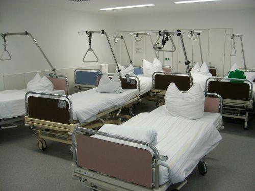 hospital bedside beds