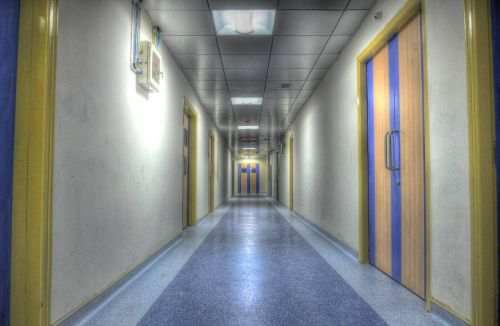 hospital alley aisle