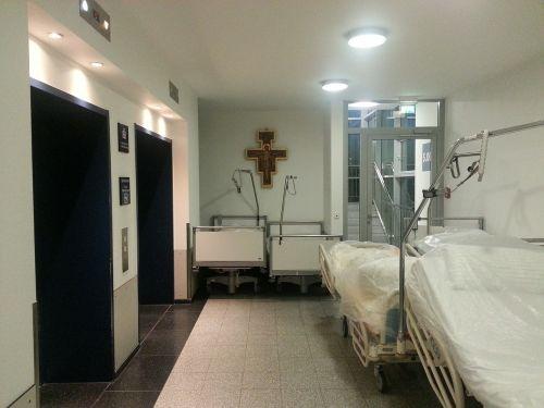 hospital ill bedside