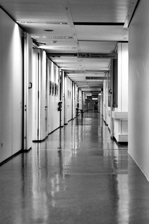 hospital hospital corridor long corridor