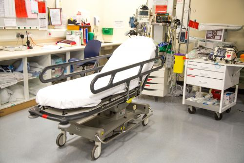 Hospital Trolley For Patients