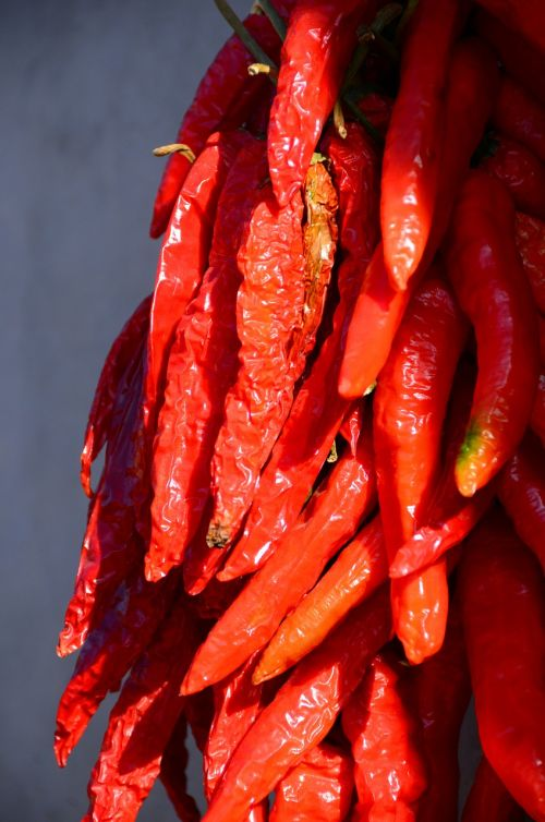 chilli hot red