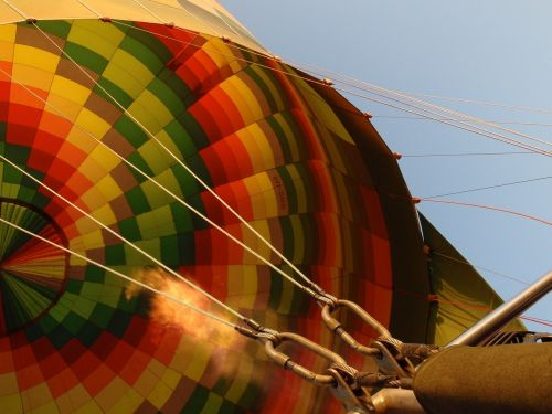 hot air balloon colorful