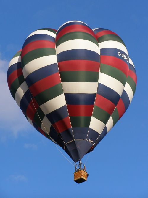 hot air ballon flying soaring
