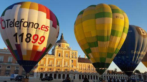 hot air balloon balloons aranjuez