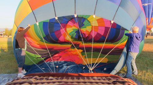 hot air balloon balloon aviation