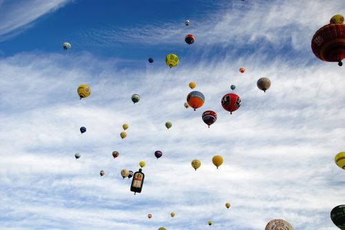 hot air balloon balloon sky