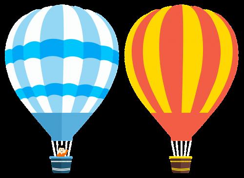 hot air balloon balloons balloons vector