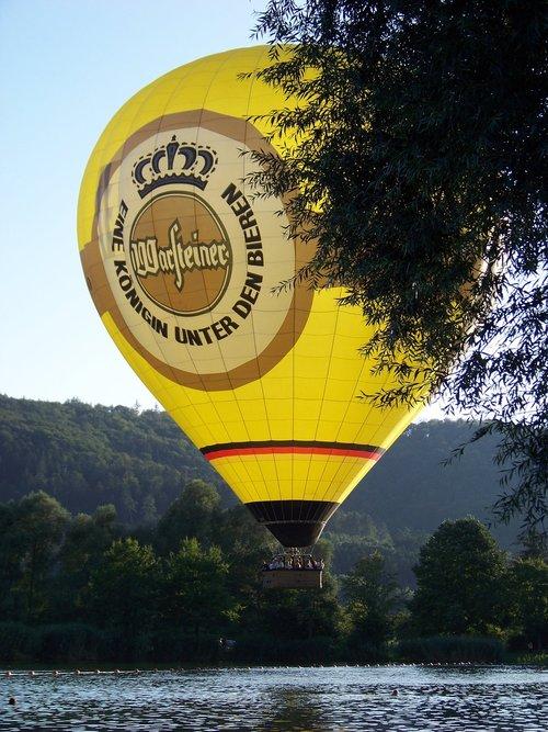 hot air balloon  air  sky