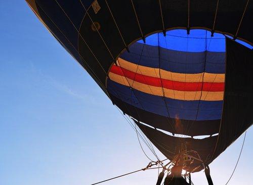 hot air balloon  sky  burner