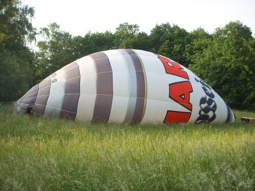 hot air balloon bloat colorful