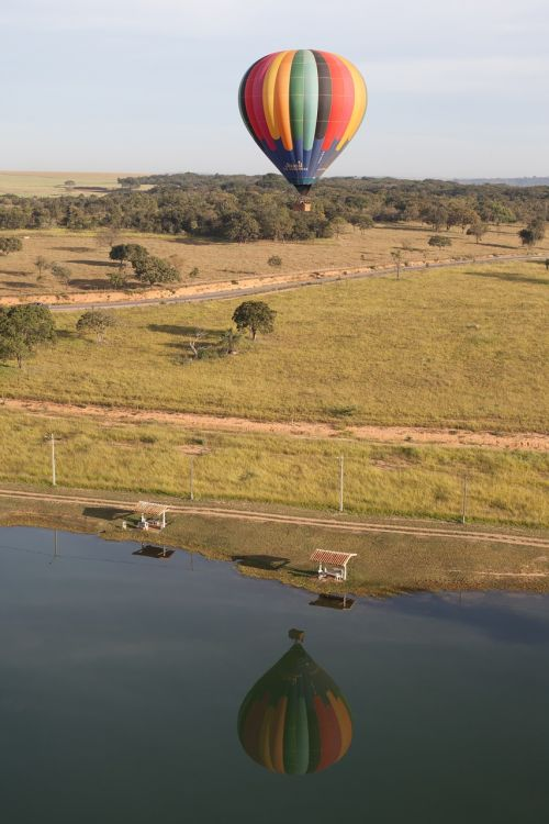 hot air ballooning balloon flight hot-air ballooning