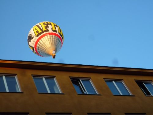 hot air ballooning environment sweden