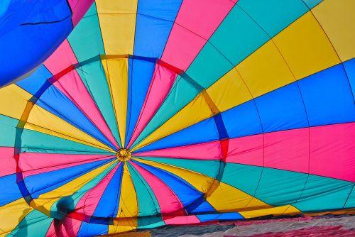 hot-air ballooning ball color