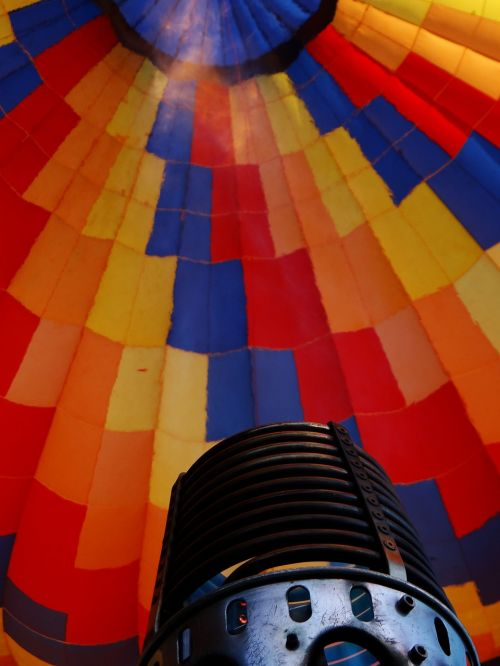 hot air ballooning balloon flight