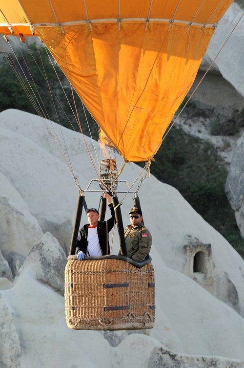 hot-air ballooning  cappadocia  turkey