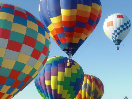 hot air balloons balloons floating