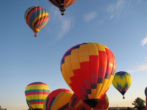 hot air balloons balloons air