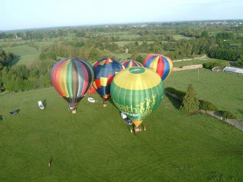 hot air balloons start balloons
