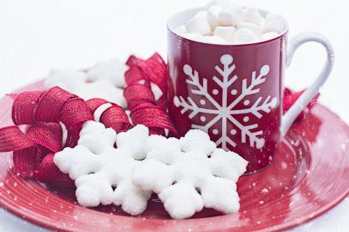 hot chocolate cocoa cookies