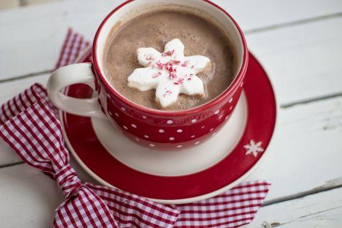 hot chocolate cocoa christmas