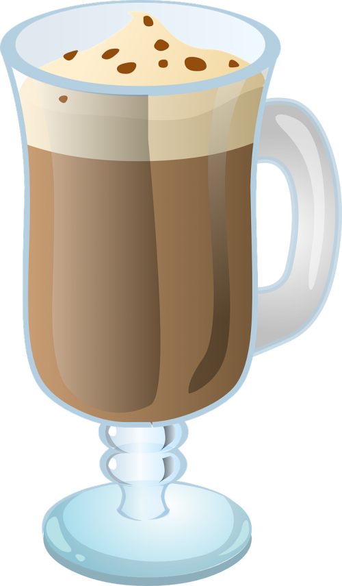 hot chocolate latte chocolate