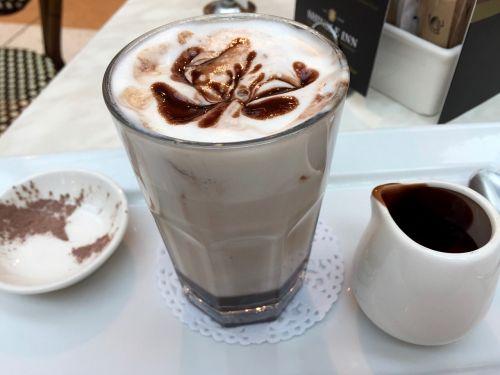 hot chocolate chocolate jug
