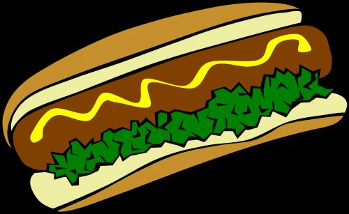 hot dog meal food
