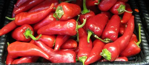hot red peppers peppers chili