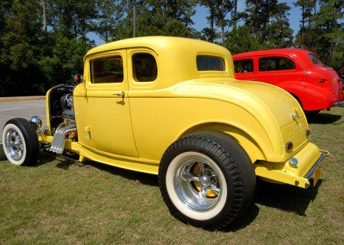 hot rod car customized