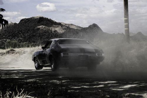 hot rod car muscle car