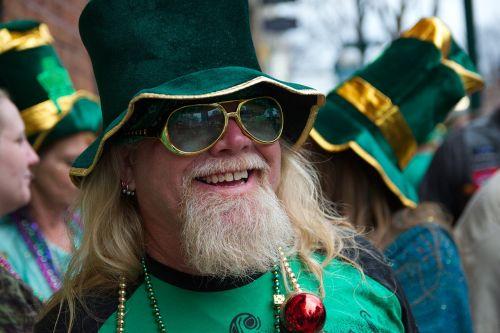 karštosios versmės,st paddys diena,paradas,Elfas,šventė,žalias,vakarėlis,barzda