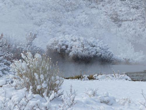 Hot Springs In Snow
