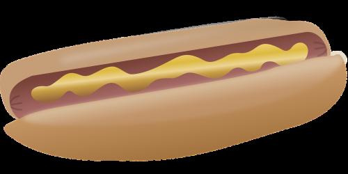 hotdog food mustard