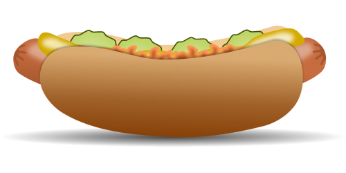 hotdog fast food food