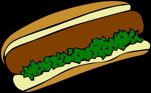 hotdog snack food