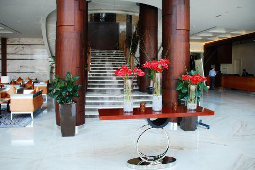 hotel reception input range