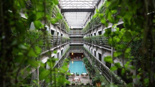 hotel architecture modern