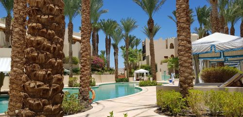 hotel swimming pool summer