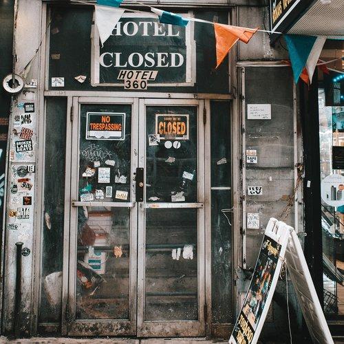 hotel  closed  nyc