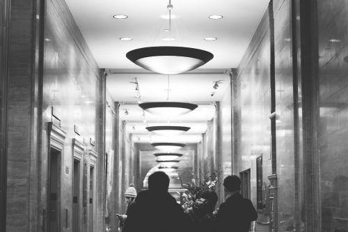 hotel elevators lights