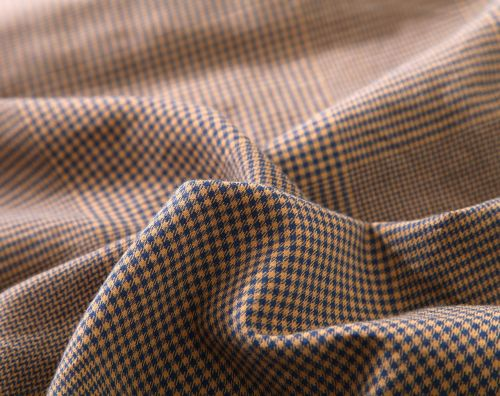 houndstooth fabric brown