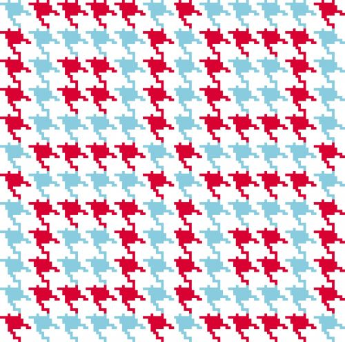 Houndstooth Check Pattern
