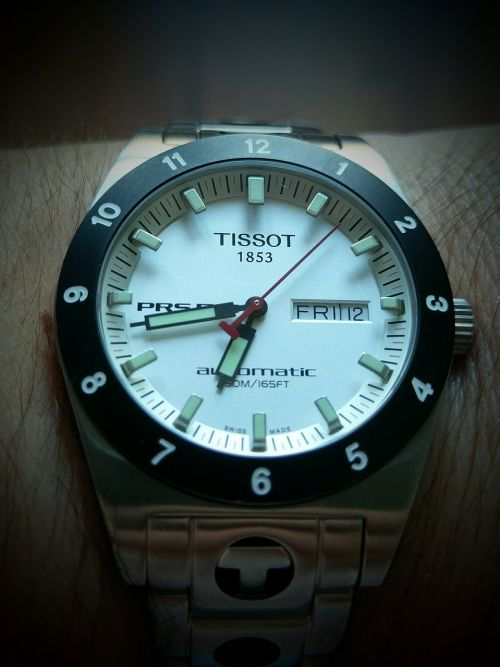 hour s tissot prs516