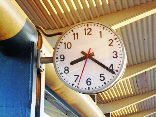 hour s time passage of time