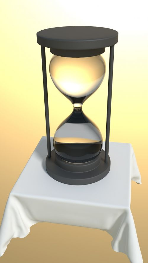 hourglass time transient