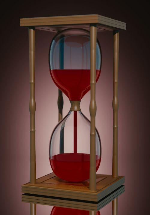hourglass time glass