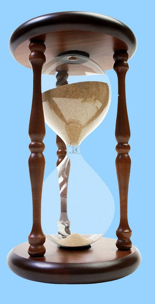 hourglass sand time
