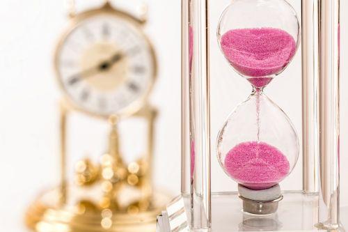 hourglass clock time