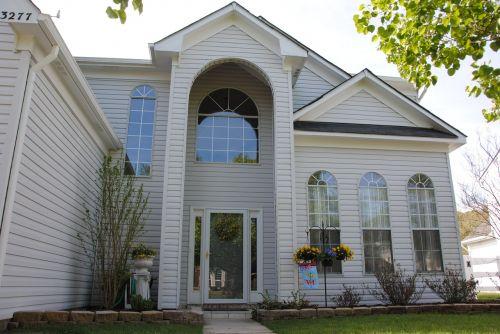 house white suburb